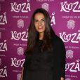 """Elisa Tovati à la représentation du nouveau spectacle du Cirque du Soleil, """"Kooza"""", sur l'ïle Seguin à Boulogne-Billancourt, le 26 novembre 2013."""