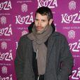 """Jalil Lespert à la représentation du nouveau spectacle du Cirque du Soleil, """"Kooza"""", sur l'ïle Seguin à Boulogne-Billancourt, le 26 novembre 2013."""