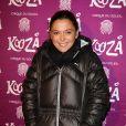 """Sandrine Quétier à la représentation du nouveau spectacle du Cirque du Soleil, """"Kooza"""", sur l'ïle Seguin à Boulogne-Billancourt, le 26 novembre 2013."""