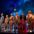 """Le Cirque du Soleil """"Kooza"""" présente son nouveau spectacle à Boulogne-Billancourt, le 26 novembre 2013."""