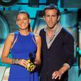 Blake Lively et Ryan Reynolds aux MTV Movie Awards le 5 juin 2011.