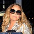 Mariah Carey à New York, le 12 novembre 2013.