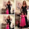 Mariah Carey et sa fille Monroe le 15 novembre 2013.