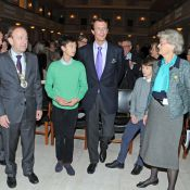 Prince Joachim : En choeur avec ses très sages fils Nikolai et Felix