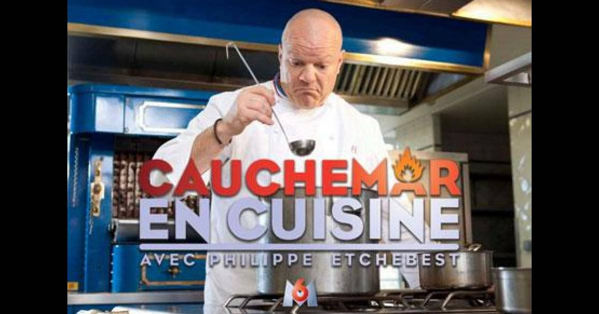 Philippe etchebest pr sente cauchemar en cuisine sur m6 - Cauchemar en cuisine en france ...