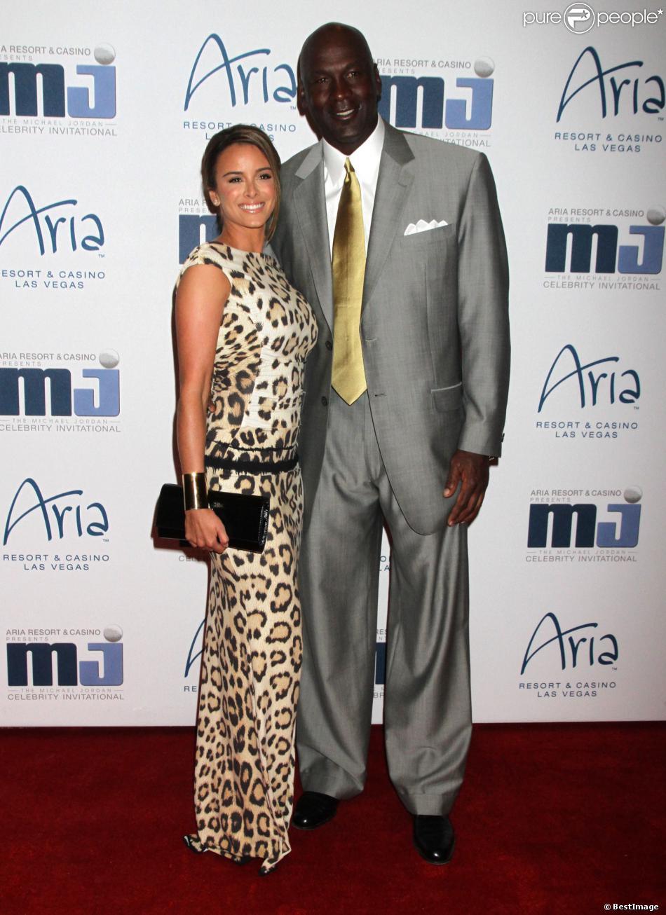 Michael Jordan et son épouse en secondes noces Yvette Prieto, ici en mars 2012 lors du 11e gala annuel de Michael Jordan, attendent leur premier enfant pour 2014, a-t-on appris le 30 novembre 2013