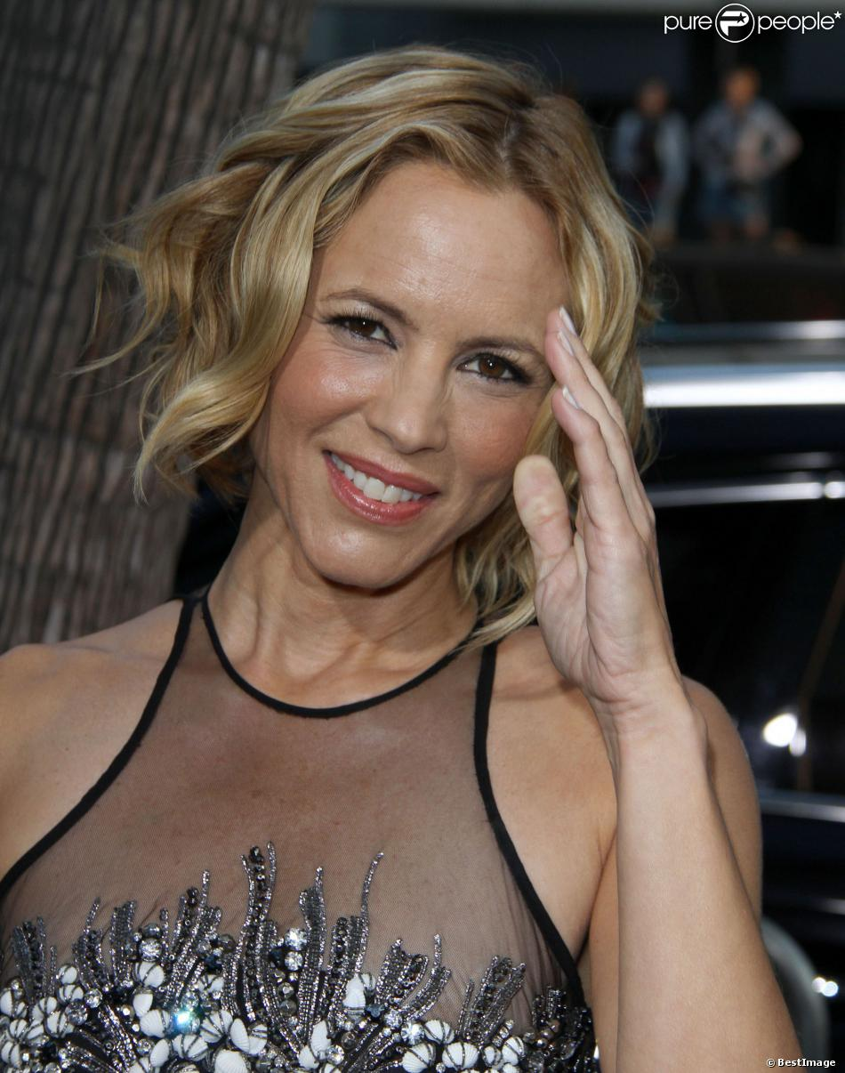 Maria Bello à Beverly Hills, le 12 septembre 2013.