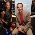 """Vincent McDoom et Laurent Artufel - Conférence de presse des """"Lauriers TV Awards"""" à l'hôtel Seven à Paris le 2 décembre 2013."""