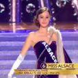 Défilé des douze demi-finalistes de Miss France 2014 sur le thème Princesse Anastasia lors de l'élection Miss France 2014 sur TF1, en direct de Dijon, le samedi 7 décembre 2013