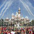 Demi Lovato lors de l'enregistrement du show Disney Parks Christmas Day Parade à Los Angeles, novembre 2013.