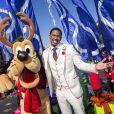 Nick Cannon lors de l'enregistrement du show Disney Parks Christmas Day Parade à Los Angeles, novembre 2013.