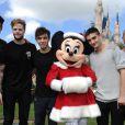 The Wanted lors de l'enregistrement du show Disney Parks Christmas Day Parade en Floride, novembre 2013.