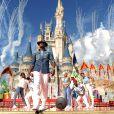 Ne-Yo lors de l'enregistrement du show Disney Parks Christmas Day Parade en Floride, novembre 2013.