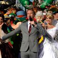 Neil Patrick Harris lors de l'enregistrement du show Disney Parks Christmas Day Parade en Floride, novembre 2013.