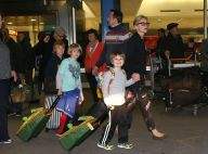 Sharon Stone : Étincelante avec ses trois garçons, de retour d'une ''aventure''