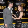 Amy Adams, Darren Le Gallo lors de la première du film American Bluff (American Hustle en VO) à New York, le 8 décembre 2013.