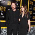 Christian Bale, Sibi Blazic lors de la première du film American Bluff (American Hustle en VO) à New York, le 8 décembre 2013.