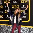 Behati Prinsloo lors de la première du film American Bluff (American Hustle en VO) à New York, le 8 décembre 2013.