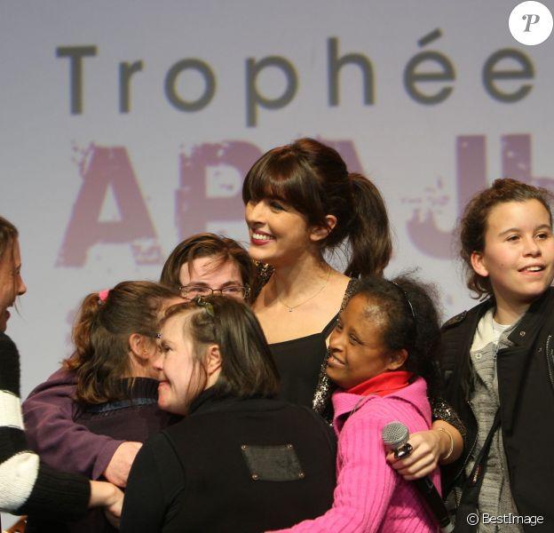 Nolwenn Leroy - Cérémonie des 9e Trophées APAJH au Carrousel du Louvre à Paris le 9 decembre 2013. L'association APAJH se bat pour l'accessibilité universelle des personnes en situation de handicap.