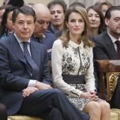Letizia d'Espagne sublime au Pardo tandis que Felipe se recueille à Johannesburg