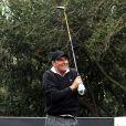 José Maria Olazabal lors du tournoi de golf Nadal & Olazabal Invitational à Majorque, le 30 novembre 2013