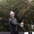 Rafael Nadal lors du tournoi de golf Nadal & Olazabal Invitational à Majorque, le 30 novembre 2013