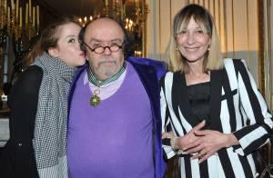 Jean-Michel Ribes : L'homme de théâtre honoré devant sa femme et sa fille
