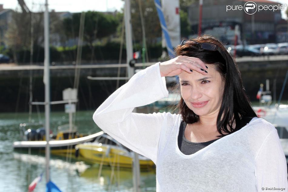 Béatrice Dalle lors du Festival du film de la Rochelle le 14 septembre 2012