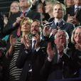 Le prince Haakon de Norvège lors du concert du prix Nobel de la Paix le 11 décembre 2013 au Spektrum d'Oslo