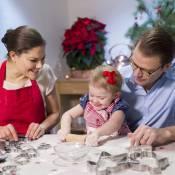 Princesse Estelle, Victoria et Daniel : Atelier gâteaux de Noël en famille !