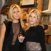 Lola Bigard : Maman sexy et toute en transparence avec sa soeur Lou