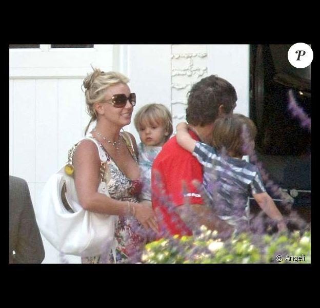 Britney Spears passe du temps avec ses enfants