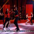 Kenza Farah dans la finale d'Ice Show sur M6 le mercredi 18 décembre 2013