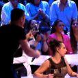 Norbert casse son trophée dans Ice Show le 18 décembre 2013 sur M6