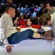 EXCLUSIF. Norbert Tarayre lors de la finale d'Ice Show, le 18 décembre 2013, sur M6.
