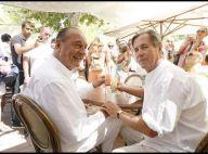PHOTOS EXCLUSIVES : Jacques Chirac, star du marché de Saint-Tropez !
