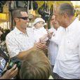 Jacques Chirac à Saint Tropez