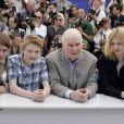 Le casting de Renoir (Vincent Rottiers, Thomas Doret, Michel Bouquet et Christa Théret) à Cannes le 26 mai 2012.