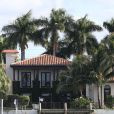 Vue de la maison de Matt Damon à Miami, le 19 décembre 2013.