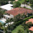Ancienne demeure d'Enrique Iglesias à Miami, le 3 octobre 2013.