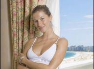 PHOTOS : Gisele Bündchen sans maquillage prend la pose dans sa chambre d'hôtel...