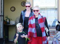 Gwen Stefani, enceinte : Détendue avant Noël avec ses deux garçons