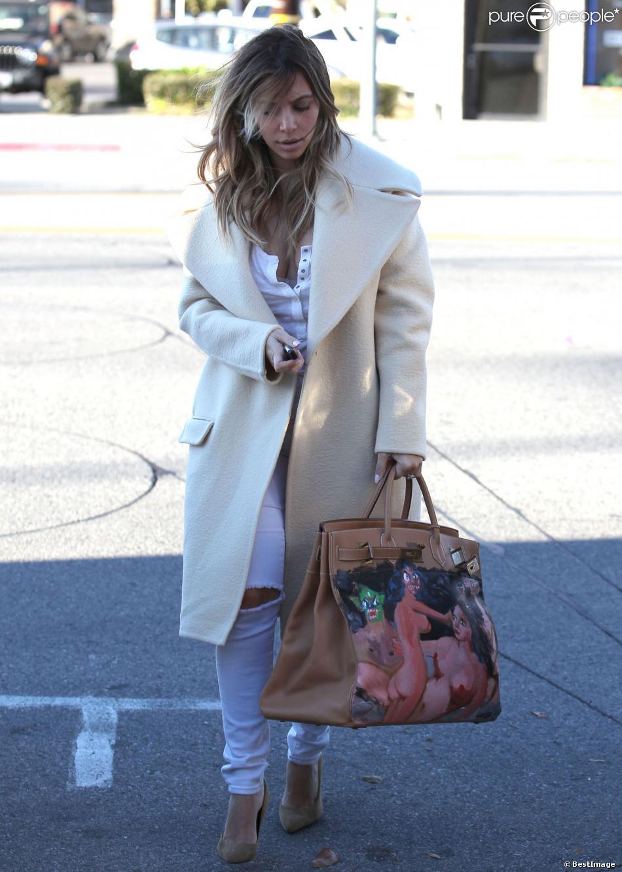 celine luggage mini - Look de la semaine : Kim Kardashian et Jessica Alba ach��vent 2013 ...
