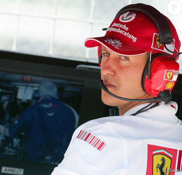 Michael Schumacher sur le circuit Gilles Villeneuve de Montréal, le 9 juin 2007