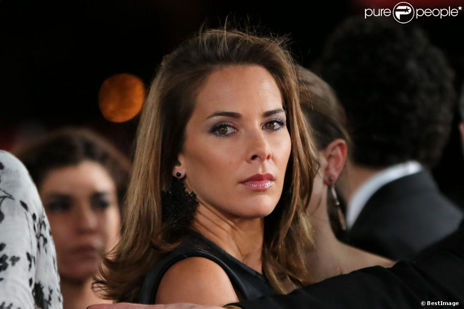 Mélissa Theuriau au 13e Festival International du Film de Marrakech le 1er décembre 2013.