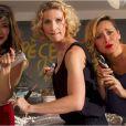 Le film Jamais le premier soir, en salles depuis le 1er janvier 2014, avec Alexandra Lamy, Julie Ferrier et Mélanie Doutey