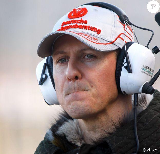 Michael Schumacher sur le circuit Ricardo Tomo à Valence, le 2 février 2011