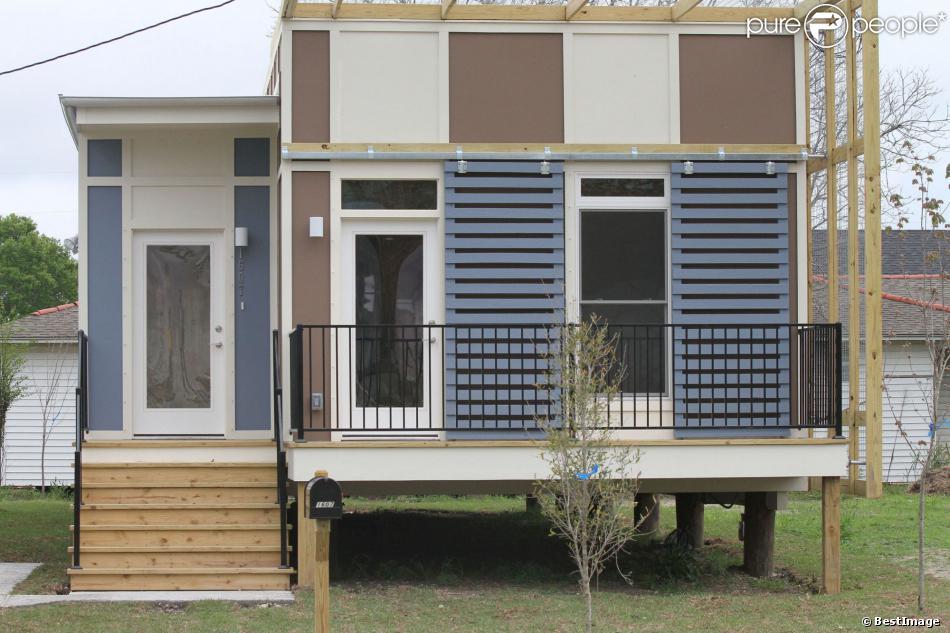 une maison mod le de la fondation brad pitt la nouvelle orl ans le 9 mars 2012. Black Bedroom Furniture Sets. Home Design Ideas