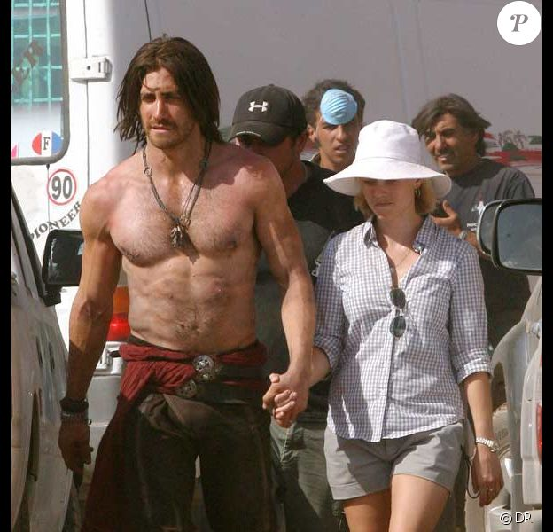Jake Gyllenhaal et Reese Witherspoon sur le tournage de Prince Of Persia au Maroc