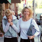 Heather Locklear : Virée complice avec sa superbe fille Ava, son double !
